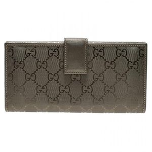 GUCCI guccissima gg continental flap wallet